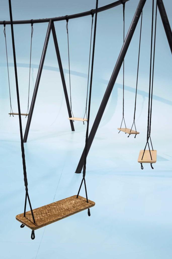 "Caesarstone ""Swings"" Installation by Philippe Malouin"