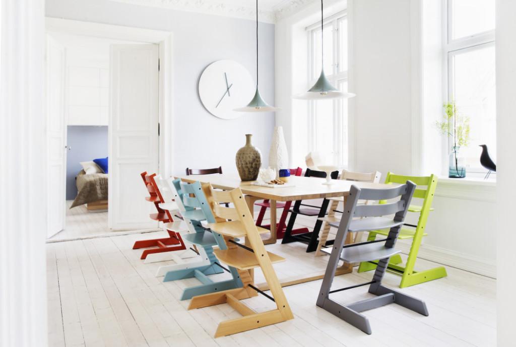 Scandinavia design Tripp Trapp chair Stokke