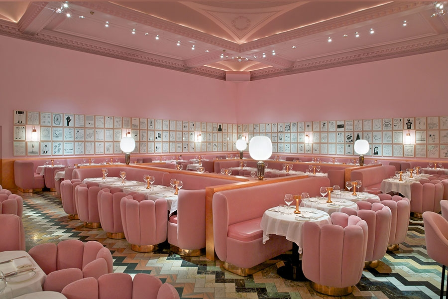 The Gallery at sketch by India Mahdavi