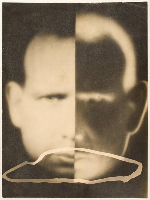 Maggiorino Gramaglia – Spettralizzazione dell'io, Fotomontaggio, 1931. Coll. Museo del Cinema, Torino.