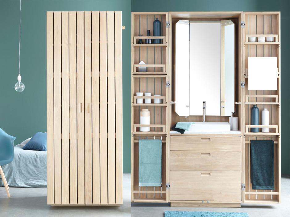 Cabina Armadio Nel Bagno : La cabine il bagno nell armadio
