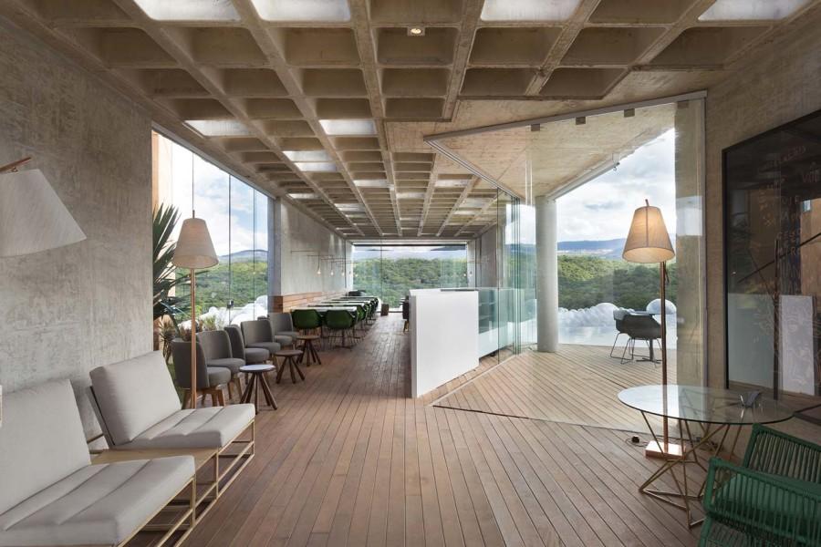 BCMF Arquitetos + MACh Arquitetos, Bar-Pool-Gallery, Nova Lima, Belo Horizonte, Brazil