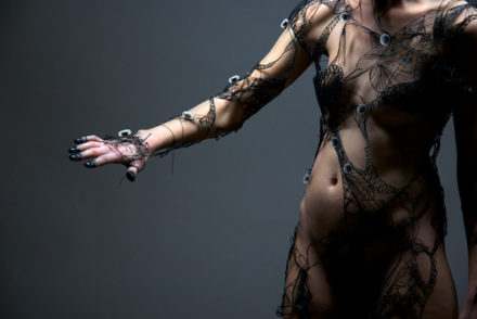 http://www.designboom.com/art/hybrid-skins-combines-fashion-with-nanotechnology-cloning-10-04-2013/