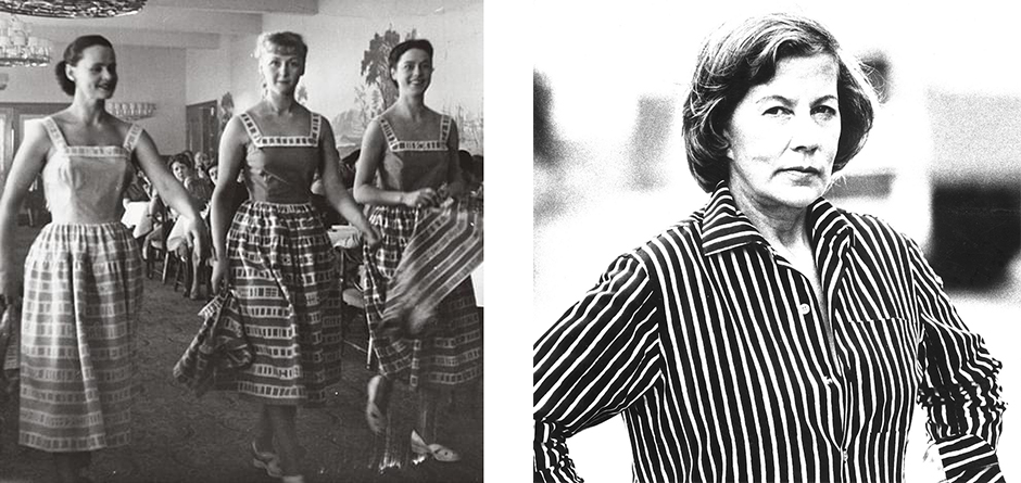 Marimekko's first fashion show in Helsinki on 20 May 1951 - Armi Ratia, founder of Marimekko.